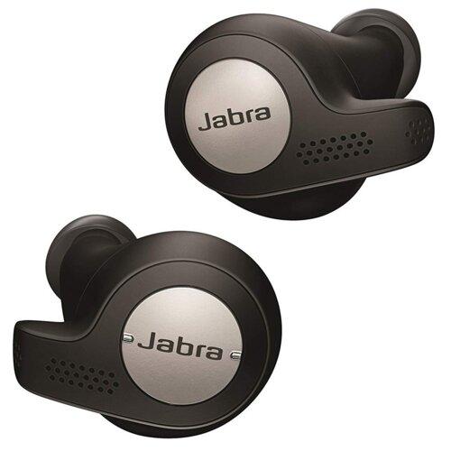 Słuchawki dokanałowe JABRA Elite Active 65T Czarny