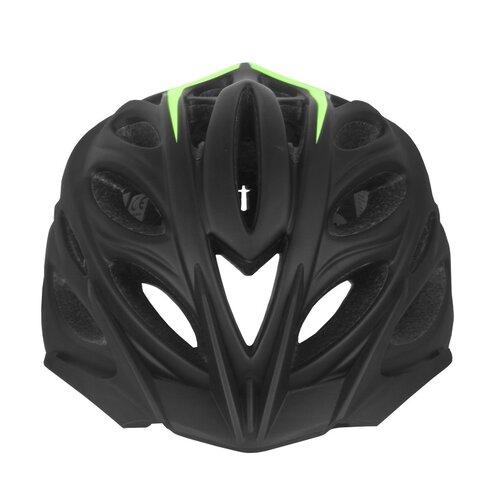 Kask rowerowy VÖGEL VKA-922G Czarno-zielony MTB (rozmiar M-L)