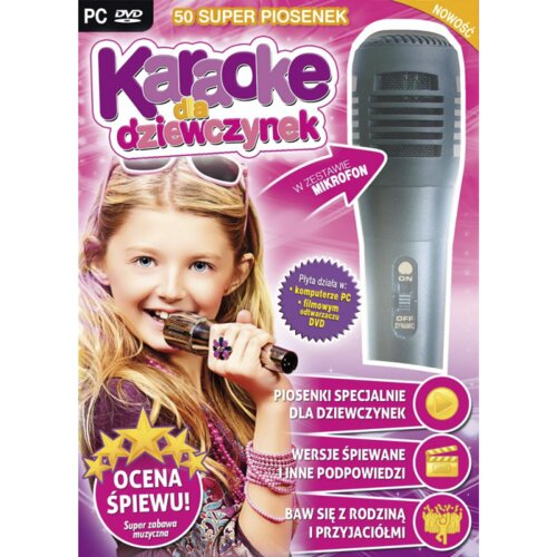 Karaoke dla Dziewczynek + Mikrofon Gra PC