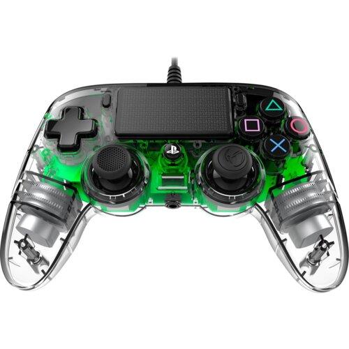 Kontroler NACON Compact Zielony Przezroczysty (PS4/PC)