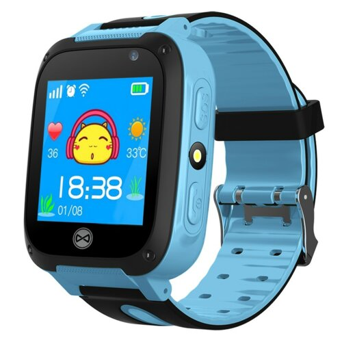 Smartwatch FOREVER Call Me KW-50 Niebieski