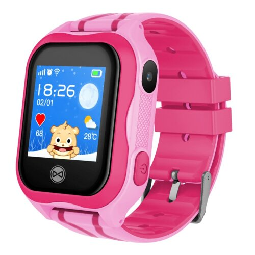 Smartwatch FOREVER See Me KW-300 Różowy