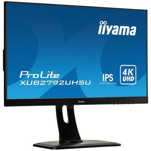 """Monitor IIYAMA ProLite XUB2792UHSU 27"""" 3840x2160px IPS 4 ms"""