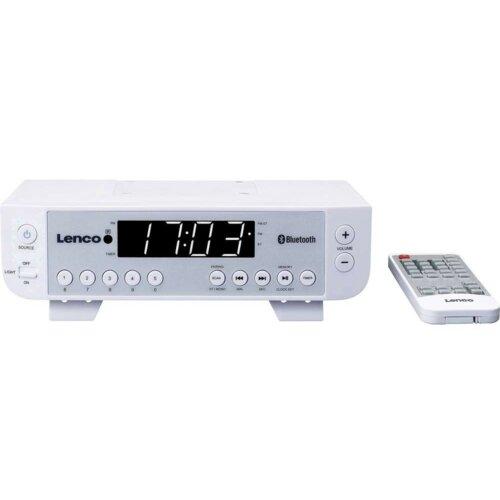 Radio LENCO KCR-100W Biały