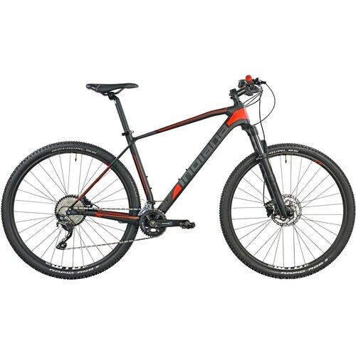 Rower górski MTB INDIANA Storm X10 M21 29 cali męski Czarno-czerwony