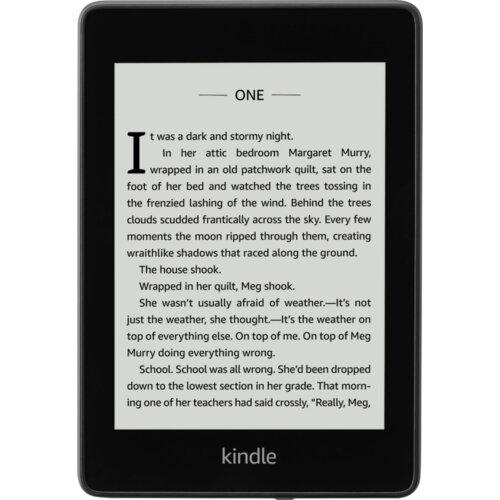 Czytnik E-Booków AMAZON Kindle Paperwhite 4 Czarny (REKLAMY)