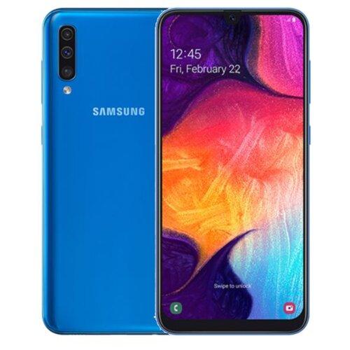 """Smartfon SAMSUNG Galaxy A50 4/128GB 6.4"""" Niebieski SM-A505"""