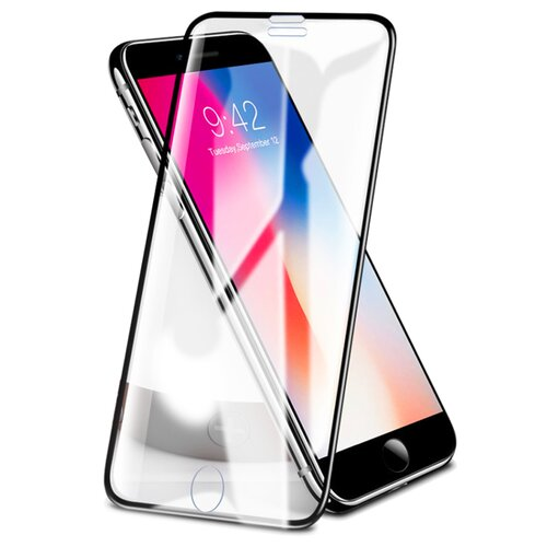 Szkło hartowane ROCK do iPhone 6/6S/7/8 PLUS Czarny