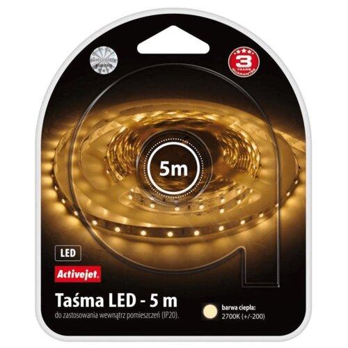 Taśma LED ACTIVEJET AJE-LED Stripe IP65 5m