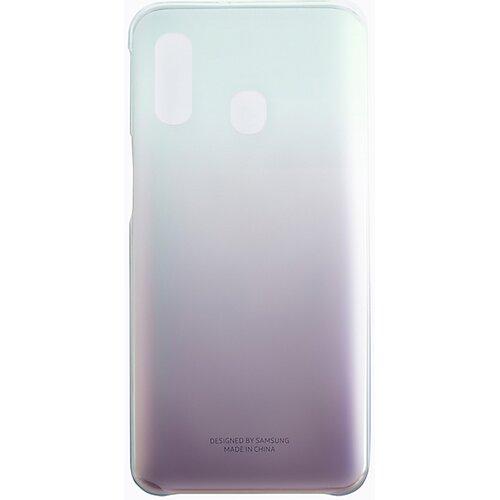 Etui SAMSUNG Gradation Cover do Samsung Galaxy A40 EF-AA405CBEGWW Czarny