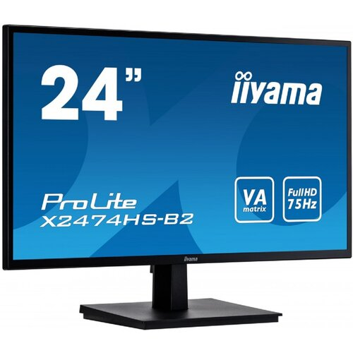"Monitor IIYAMA ProLite XB2474HS 24"" 1920x1080px 4 ms"