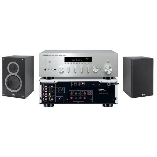 Zestaw stereo YAMAHA MusicCast R-N602 Czarny + ELAC Debut 2.0 B6.2 Czarny