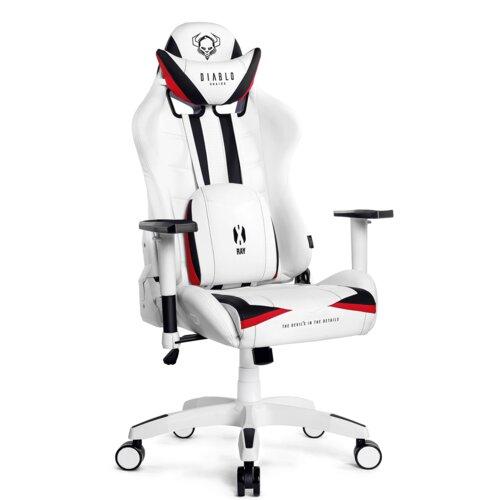 Fotel DIABLO X-Ray XL Biało-czarny