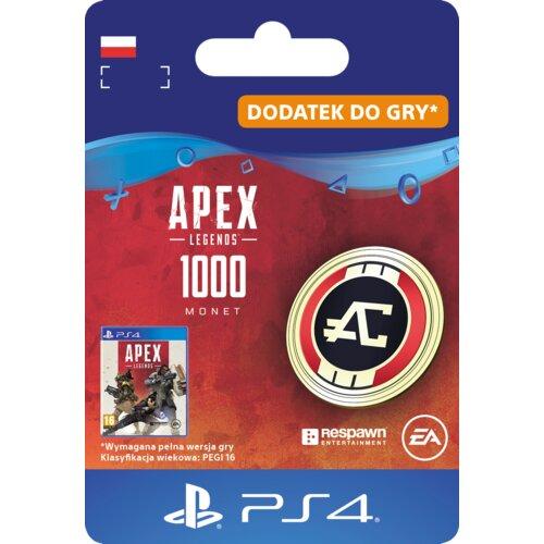 Kod aktywacyjny APEX Legends 1000 Monet