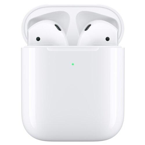 Słuchawki douszne APPLE AirPods II z bezprzewodowym etui Biały