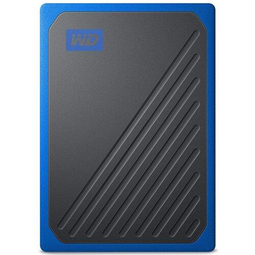 Dysk WD My Passport Go 500GB SSD Czarno-niebieski