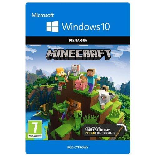 Kod aktywacyjny MICROSOFT Minecraft Windows 10 Pakiet Startowy
