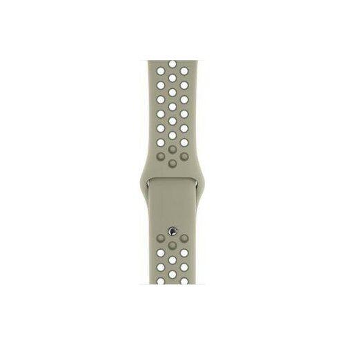 Pasek APPLE do Watch Nike (38/40mm) Świerkowa kora/Szara szadź