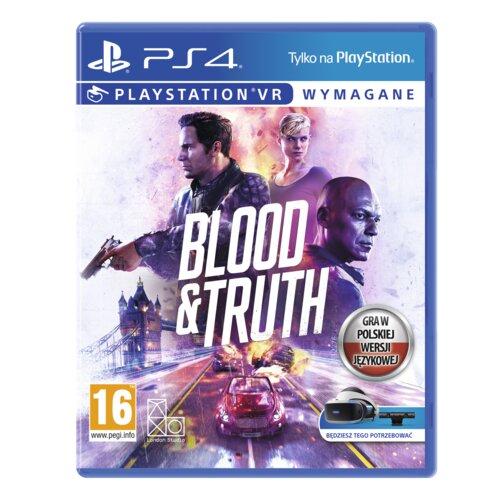 Blood And Truth Gra PS4 (Kompatybilna z PS5)
