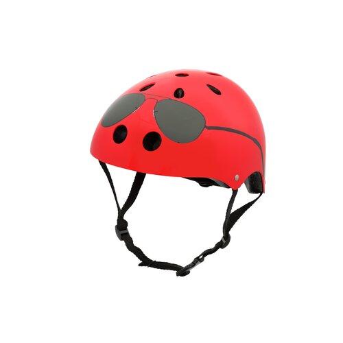 Kask rowerowy HORNIT Aviators Small Czerwony Dla dzieci (rozmiar S)