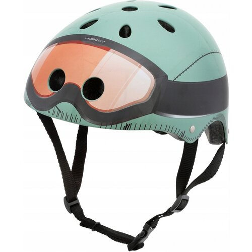 Kask rowerowy HORNIT Military Zielony Dla dzieci (rozmiar S)