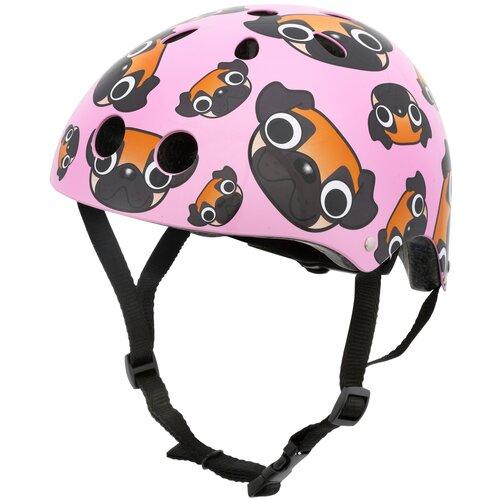 Kask rowerowy HORNIT Pug Różowy Dla dzieci (rozmiar S)