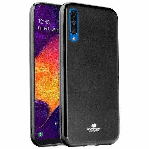 Etui MERCURY Jelly Case do Samsung Galaxy A50 Czarny