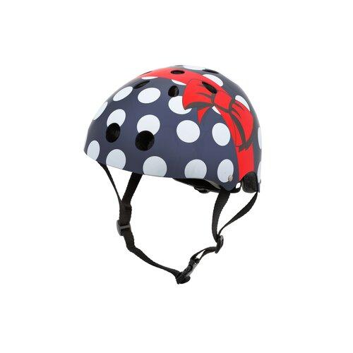 Kask rowerowy HORNIT Polka Dot Medium Granatowy Dla dzieci (rozmiar M)