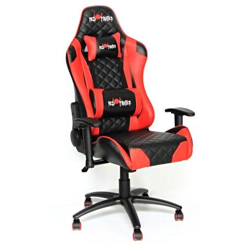 Fotel RED FIGHTER C1 Czerwono-czarny