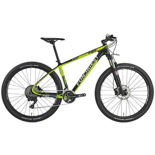 Rower górski MTB FONDRIEST F80 M21 27.5 cala męski Czarno-zielony