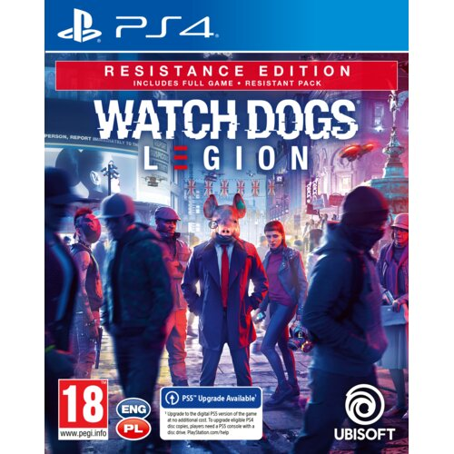 Watch Dogs Legion: Resistance Edition Gra PS4 (Kompatybilna z PS5)
