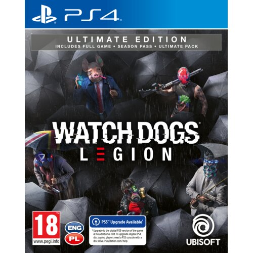 Watch Dogs Legion: Ultimate Edition Gra PS4 (Kompatybilna z PS5)