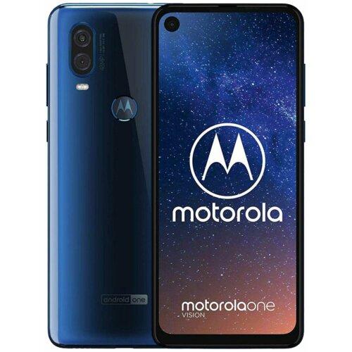 "Smartfon MOTOROLA One Vision 4/128GB 6.3"" Niebieski PAFB0011PL"
