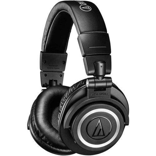 Słuchawki nauszne AUDIO-TECHNICA ATH-M50xBT Czarny