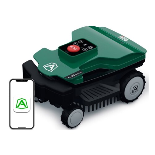 Robot koszący AMBROGIO L15 Deluxe sterowanie Bluetooth