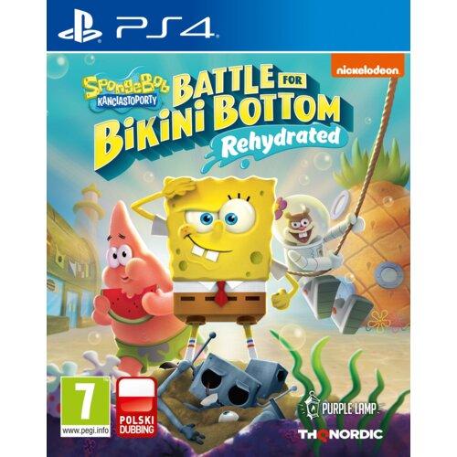 Spongebob Squarepants: Battle for Bikini Bottom - Rehydrated Gra PS4 (Kompatybilna z PS5)