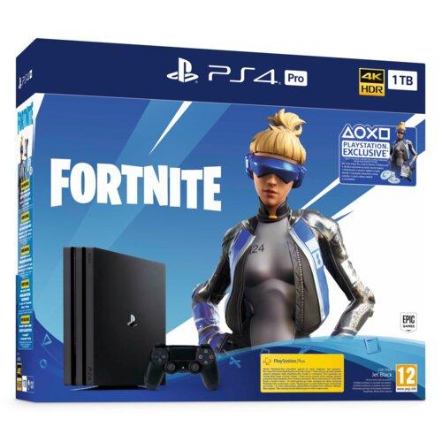 Konsola SONY PlayStation 4 PRO 1TB + pakiet dodatków Fortnite Neo Versa
