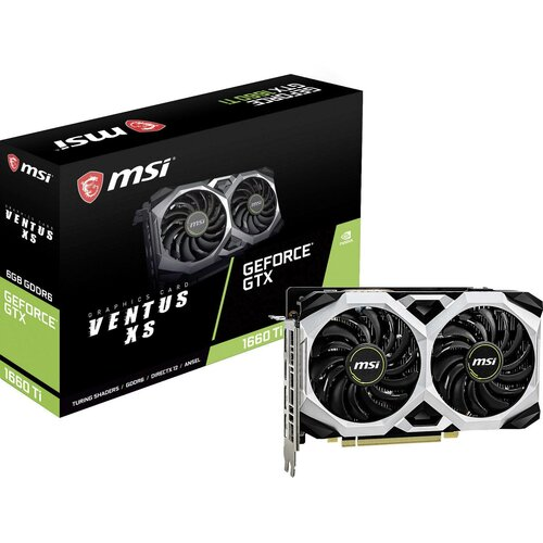 Karta graficzna MSI GeForce GTX 1660 Ti Ventus XS 6GB