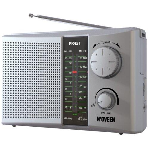 Radio NOVEEN PR451 Srebrny