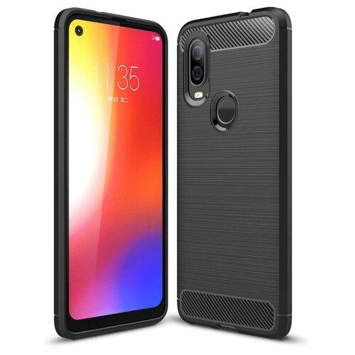 Etui TECH-PROTECT Tpucarbon do Motorola One Vision Czarny