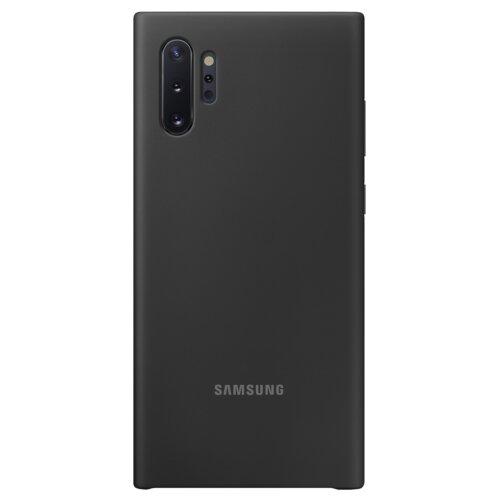 Etui SAMSUNG Silicone Cover Galaxy Note 10 Plus Czarny