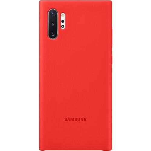Etui SAMSUNG Silicone Cover Samsung Galaxy Note 10+ Czerwony