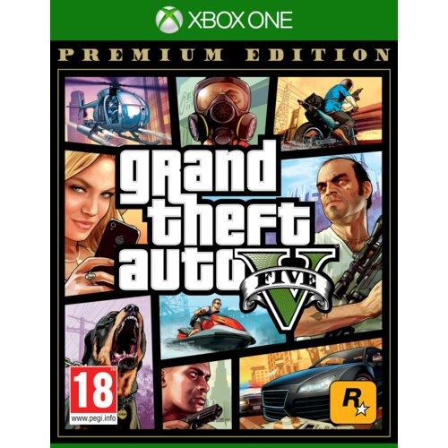 Grand Theft Auto V - Edycja Premium Gra XBOX ONE (Kompatybilna z Xbox Series X)