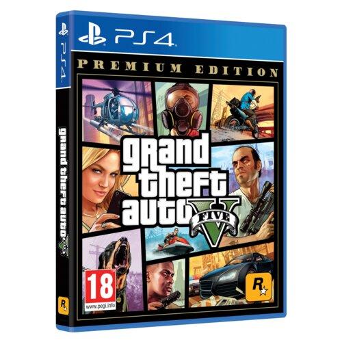 Grand Theft Auto V - Edycja Premium Gra PS4 (Kompatybilna z PS5)