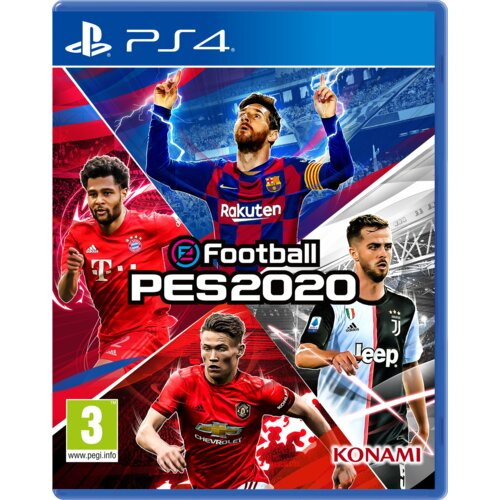 eFootball PES 2020 Gra PS4 (Kompatybilna z PS5)