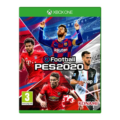 eFootball PES 2020 Gra XBOX ONE (Kompatybilna z Xbox Series X)