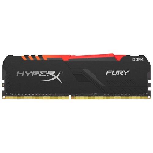 Pamięć RAM HYPERX Fury RGB 8GB 2666MHz