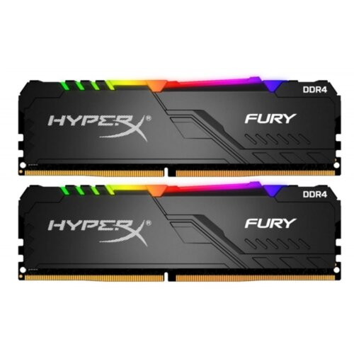 Pamięć RAM HYPERX Fury RGB 16GB 2666MHz
