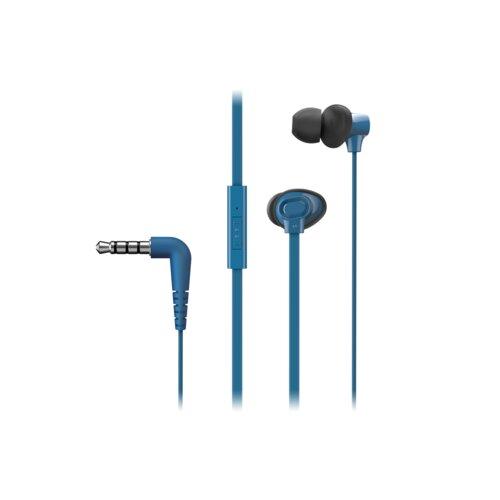 Słuchawki dokanałowe PANASONIC RP-TCM130-A Niebieski