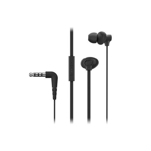 Słuchawki dokanałowe PANASONIC RP-TCM130-K Czarny
